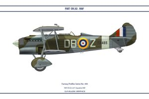 Fantasy 485 FIAT CR.32 RAF by WS-Clave