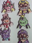 The villains of Mario. by Iwatchcartoons715