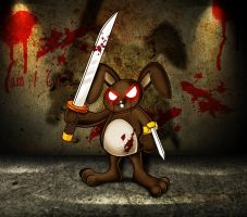 Bunny from the Hell by azhartdesign