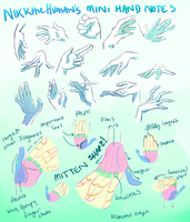 Drawing Hands! by NikkTheHuman