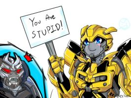 TF:You are stupid 2 by Beriuos