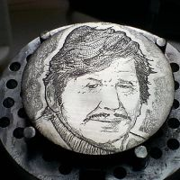 S-039-Charles-Bronson-Front-1977 by HiTechArtist