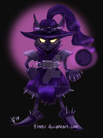Tiny Master of Evil by Tinnu