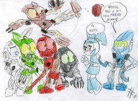 Jenny meets the Toa by killb94
