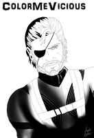 Metal Gear Solid GROUND ZEROES[UNCOLORED] by ColorMeVicious