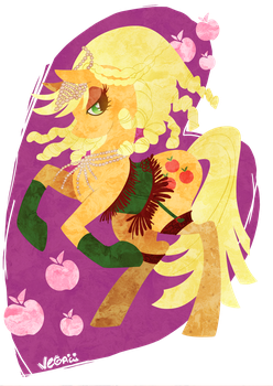 Applejack by VegaNya