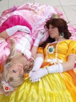 Princess Peach shoot1 by Rikkulicious