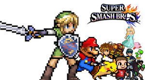 SSB4 Sprites Version by sonic4ever760