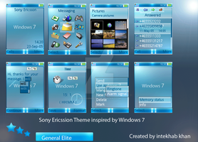 Windows 7 Sonyericssion theme by mohammed786