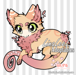 OPEN Fluffy Dragon Adoptable by LinaLeeL