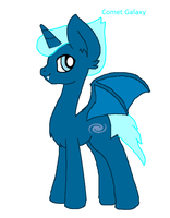 Comet Galaxy (redesign) by Snoopy7c7