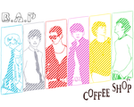 [BAP] Coffee Shop Sketch by NanA-0330