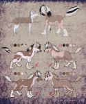 Chinese Crested Litter 5 -CLOSED- by SummonAdopts