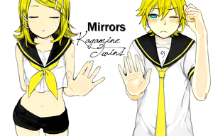 Vocaloid: Kagamine Twins 2 by theBlacFlower