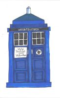 The Nerdfighters have the Phonebox by sunlitlake