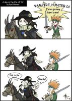 Random Vampire Hunter D Comic by darkwater-pirate