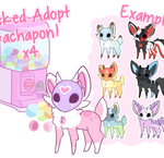 Masked Adopt Gachapon x4 [TEMPORARILY CLOSED] by moxyo