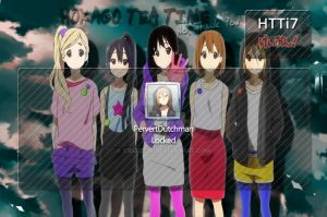 K-ON Logon Background Pack by CielRz-Jr