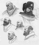 TF2 Heavy -studies- III by birdofyore
