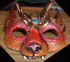 Horned Fox Mask by Namingway