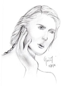 Realistic Sketch by Grakay