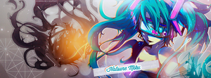 Cover Facebook - Miku Hatsune by Soihra