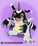 BlackGabumon by MCsaurus