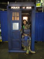 Being a Tard in a Tardis by aichan25