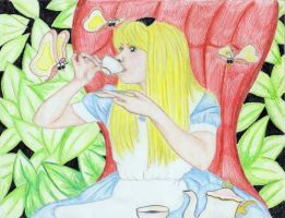 alice's tea in color by loveroffae