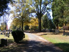 Autumn Cemetery 02 by DKD-Stock