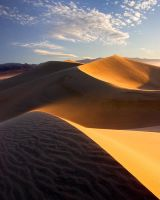 Sand Storm, Death Valley by GordonMcGregor