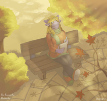 Autumn Day Arttrade Sumire Iro by Quadrackss