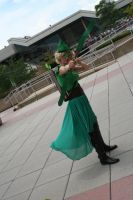 Is there a Female Green Arrow? by Witch-Hunter-87