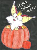 Happy Halloween From Snarf by AutobotSparkyPrime