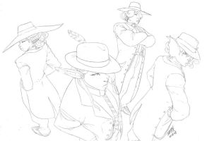 Zootsuits -lines- by theCHAMBA