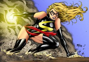 Ms Marvel by statman71