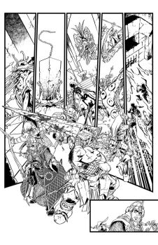 Pathfinder Hollow Mountain #5 page 9 by tomgarcia