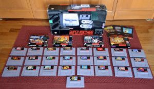 Collecting it Old School - SNES Edition by Phil-R