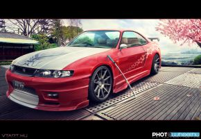 Nissan Skyline R33 by xGrabx
