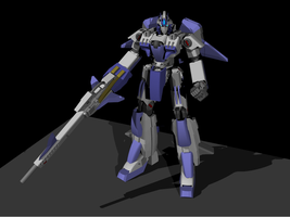 Mobile Suit Zeta Airios by MonkeydanceGuy