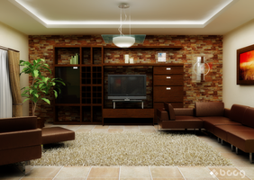 Home Sweet Home - Living 2 by saescavipica
