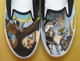 Salvador Dali shoes 2 by vcallanta