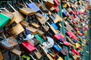 Love Padlocks - Cologne - 1 by BenHeine