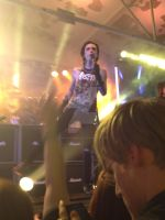 Andy Biersack Concert Cologne by xxdaswarwohlnix