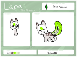 Lapa Reference Sheet 2O13 by campfyre