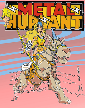 Metal Hurlant Fake Cover: Homage to Moebius by Tulio-Vilela