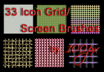 Icon Grid_Screen Brushes by 100px