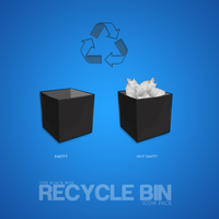 Box Style Recycle Bin by azad720