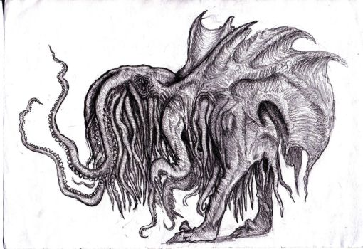 Lovecraft - Spawn of Cthulhu by KingOvRats