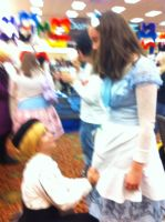 AnimeCrossroads2011:Bak and Mary by cookychristina